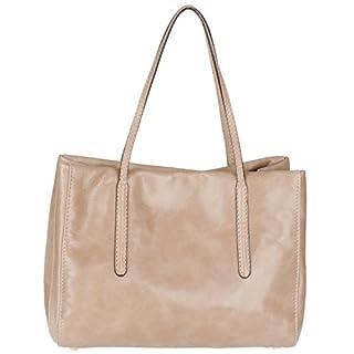 abro+ Athene 026700-01 Leder Handtasche 24x17x11cm (skin)