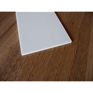 Platte Plexiglas® XT, 1000 x 500 x 3 mm, weiß, Zuschnitt Acrylglas weiß glänzend alt-intech®