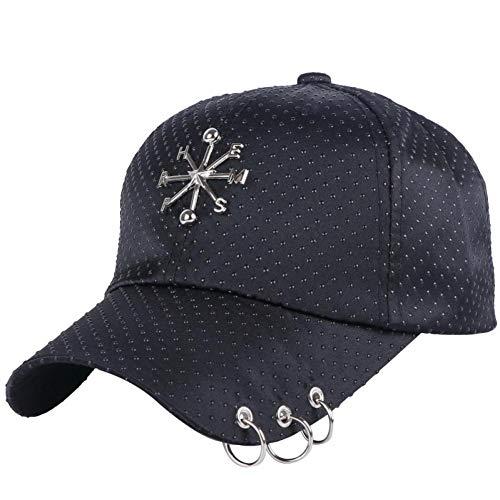 BAGFP Europäische Und Amerikanische Persönlichkeit Pentagon Dekoration Herren Und Damen Baseball Caps Punk Fashion Hut