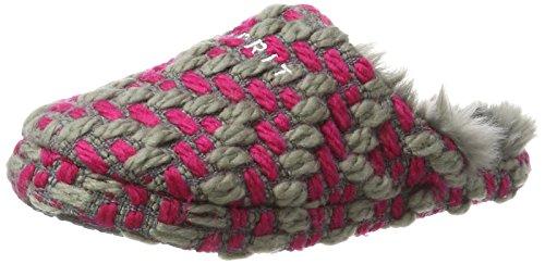 ESPRIT Damen Knitty Mule Pantoffeln, Pink (Dark Pink), 36 EU