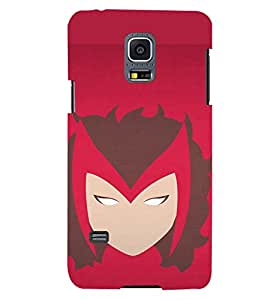 TOUCHNER (TN) Super Woman Back Case Cover for Samsung Galaxy S5 Mini::Samsung Galaxy S5 Mini G800F