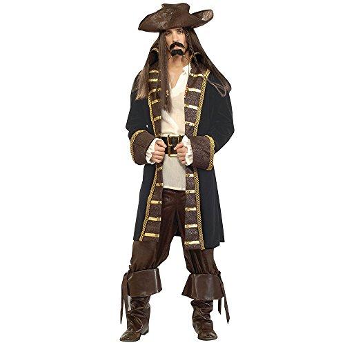 Bristol Novelty AC080 Pirat Hochsee Luxusqualität Kostüm (Medium) Men Mehrfarbig