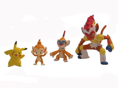 Bandai Goukazaru Evolution Set Pokemon Plamo Collection