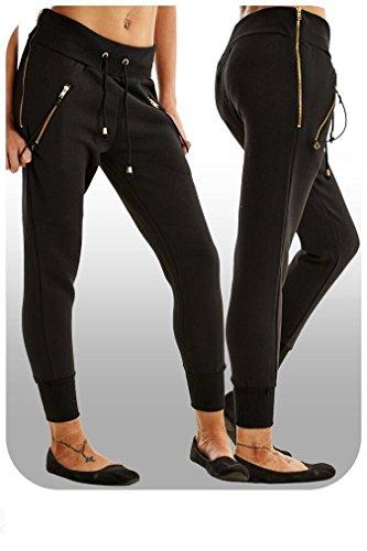Luckystyle - Pantalon de sport - Femme Schwarz