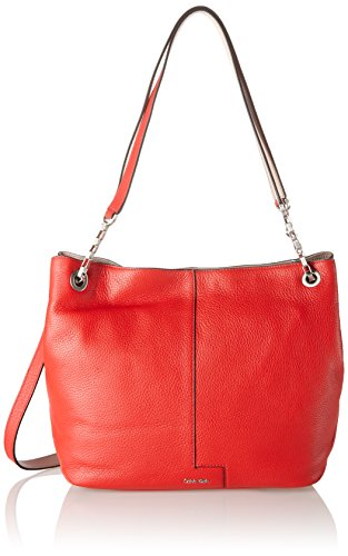 Calvin-Klein-Jeans-MIA-Chain-Tote-Bolsa-para-Mujer-Rojo-Fiery-REDBeach-902-28x13x33-cm-B-x-H-x-T