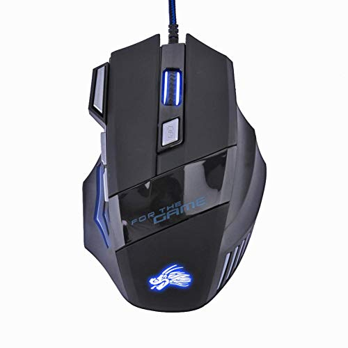 Gaming Mouse USB Wired Gaming Mouse 7 Buttons Gamer Computer Mice -