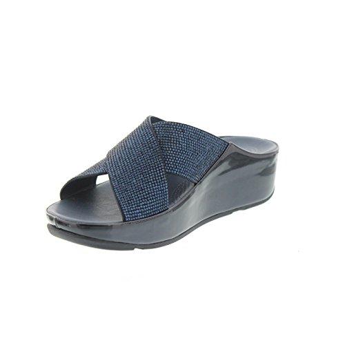 Supernavy Sandalo Di Fitflop Crystall Diapositiva Supernavy