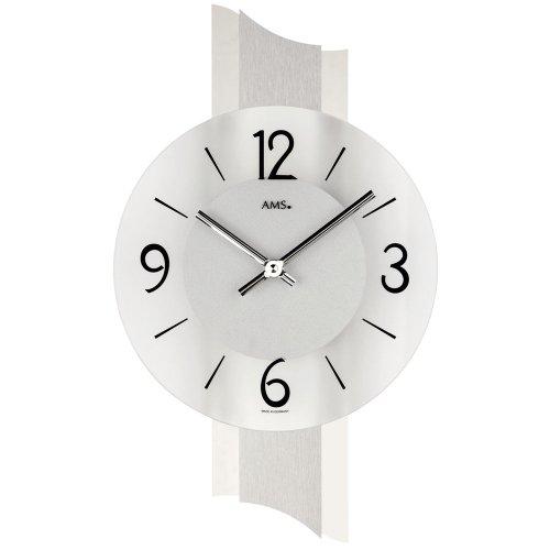 ams-reloj-de-pared-cuarzo-9394-pulido-aluminio-cromo-revestimiento-cristal-mineral
