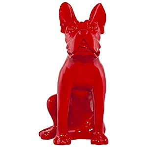 Statue chien rouge Doggy