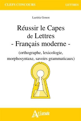 t 233 l 233 charger gratuits r 233 ussir le capes de lettres fran 231 ais moderne lire livres gratuits