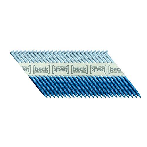 BECK FASTENER GROUP 34° Papierstreifennägel 2,9x50mm Ring-Schaft elektro-verzinkt 12µm