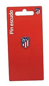 C Y P Pin Escudo Lacado en Color Atlético de Madrid, (P-14-ATL)