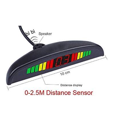 Robluee-Rckfahrsystem-hinten-mit-Sensor-A4-fr-Auto-LED-Display