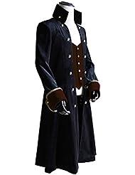 Exclusivo Vintage pirata Gótico Steampunk Victoriano Capitán perchero de pared de cóctel