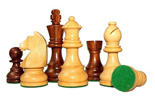 3 'King Height - Collector's Edition Wooden Chess Pieces Chess Figures Staunton Figure