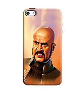 Omnam Rajnikant In Style Printed Designer Back Cover Case For Apple iPhone 4/ 4S