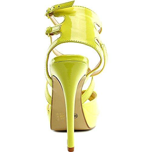 Chinese Laundry Highlight Damen Offener Spitze Synthetik Sandale Lemon