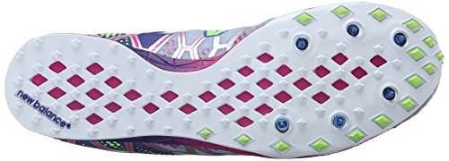 New Balance Women's WXC900 Spike Running Shoe, Grey/Purple, 10 B US Grey/Purple