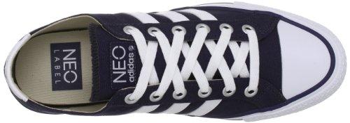 3 strisce Adidas VLNEO LO Navy, colore: bianco Blu (Blu Marine)