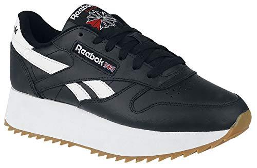 Reebok CL LTHR Double Sneaker schwarz/weiß EU40 Cl Sneaker