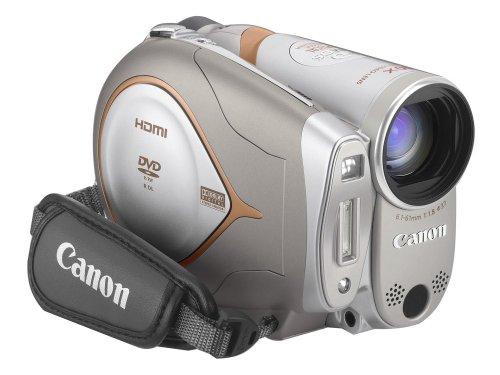 Canon HR10 HD-Camcorder (DVD, 10fach opt. Zoom, Bildstabilisator)