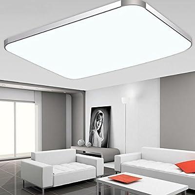 Sailun 48w Warmweiaÿ Kaltweiaÿ Dimmbar Led Modern Deckenleuchte Deckenlampe Flur Wohnzimmer Lampe Schlafzimmer Ka Che Energie Sparen Licht