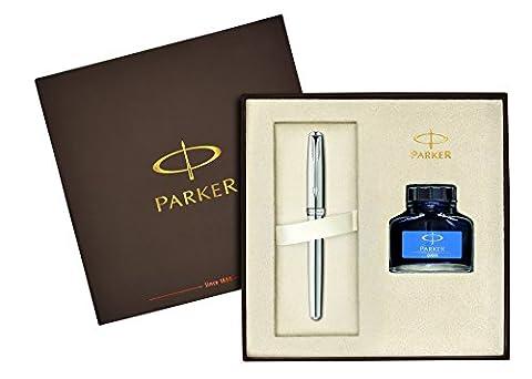 Parker 1910426 Parure Stylo-plume Acier