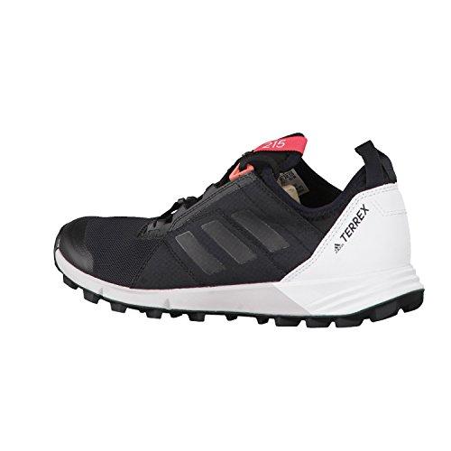 adidas Terrex Agravic Speed W, Stivali da Escursionismo Donna Nero (Negbass/Ftwbla)