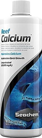 Reef Calcium 500ml–Nahrungsergänzungsmittel von Fußball für Aquarium (Konzentrat Reef)