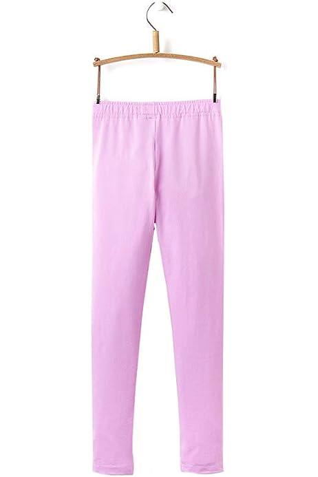 Joules Girls Neon Mauve Lilac Emilia Full Length Leggings
