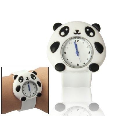 Belles montres, Cute Panda Style Case Quartz Montre-Bracelet