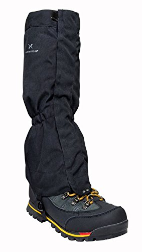 EXTREMITIES FIELD GAITER BLACK (SIZE LARGE/X LARGE)