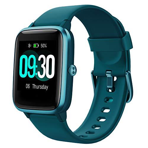 Willful Smartwatch,1.3 Zoll Touch-Farbdisplay Fitness Armbanduhr mit Pulsuhr Fitness Tracker IP68 Wasserdicht Sportuhr Smart Watch mit Schrittzähler,Schlafmonitor,Stoppuhr für Damen Herren Kinder