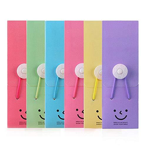 A1150 Candy Farbe Bleistift Tasche Fall Schule liefert praktische Briefpapier Geschenk süße große Kapazität Stift Bleistift Fall - rosa