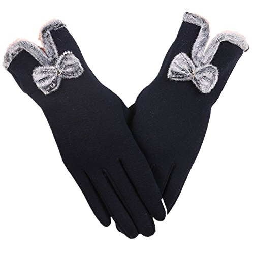 Touchscreen Handschuhe Damen, Morbuy Fahrradhandschuhe Winterhandschuhe Damen Warme Handschuhe Winter Handschuhe mit Fleecefutter (Dunkelblau) (Hilfiger Tommy Herren-creme)