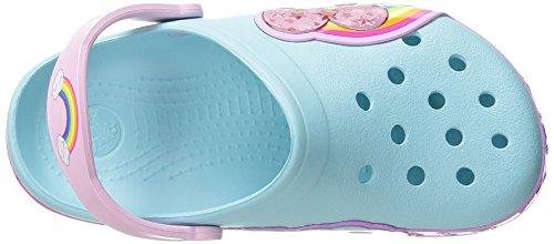 Crocs - CR.202662 - Sandales À Bout Fermé, Mixte-bébé Bleu (Ice Blue)
