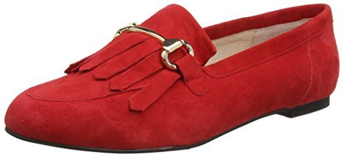 Office Furious W, Mocassini Donna Red (Red Suede)