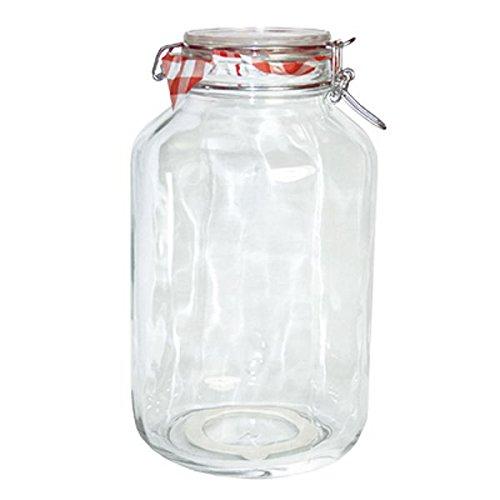 Bormioli Rocco Drahtbügelglas Fido 4000 ml rund Einmachglas Dessertglas Vorspeisenglas Einkochglas