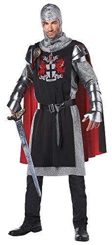Mittelalter Ritter Kostüm für Herren (Mittelalter Krieger Umhang Erwachsene Kostüme)