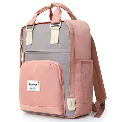 Rucksack Damen,Schulrucksack Mädchen Teenager Daypack Laptop Rucksack Frauen für Schule,Tagesrucksack mit Laptopfach für 15.6 Zoll Laptop,für Universität Reisen Freizeit Arbeit