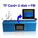 Music Angel–Lautsprecher Multimedia LCD–Blau