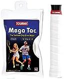 Unique Tennis Griffbänder Mega Tac Weiß 10er, MT-10XL-W