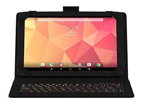 Onix 599371031   Tablet 10qc con Quad Core, 1gb, 16gb, 10,1 con Funda Teclado Bluetooth