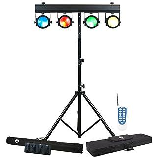 Amercian DJ 1223200031 Dotz TPAR Beleuchtungssystem mit 4x COB LED (30 Watt)