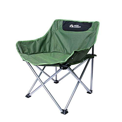 Outdoor folding camping chair, Canvas Recliners Lounge chair Aluminum Portable Fishing chair Leisure chair Beach chair Moon chair