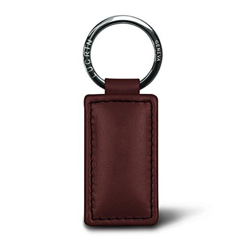 Lucrin - Porte-clefs rectangulaire - Cuir Lisse e3f05b1ec4a
