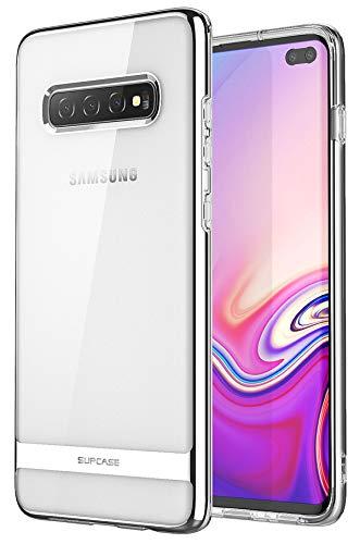 SUPCASE Hülle für Samsung Galaxy S10+ Plus Handyhülle Slim Case Soft TPU Schutzhülle Transparent Backcover [Unicorn Beetle Metro] 2019 Ausgabe (Transparent)