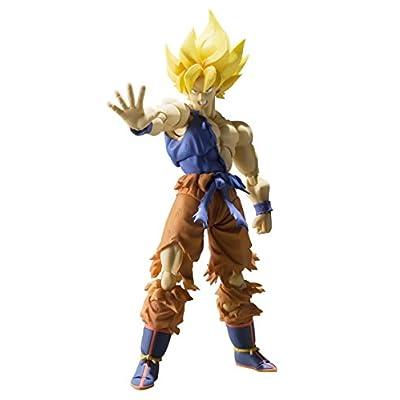 Bandai - Figurine Dragon Ball Z - Super Saiyan Son Gokou Super Warrior Awakening S.H.Figuarts - 4543112964700