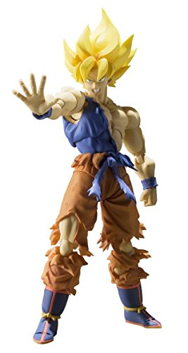 Bandai - Figurine Dragon Ball Z - Super Saiyan Son Gokou Super Warrior Awakening SHFiguarts - 4543112964700