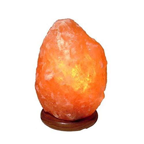 Lampe en Cristal de Sel de l'Himalaya (1-2 kg) Entièrement naturelle...
